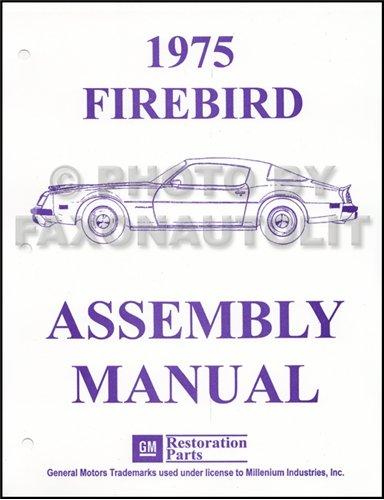 Pontiac Grandville Convertible (1975 Pontiac Firebird and Trans Am Assembly Manual Reprint)