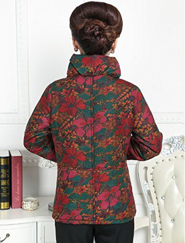 100% Mulberry Silk Womens Tang Suits Cotton-padded Jackets Chinese Coats Womens Jackets by Womens Tang Suit (Image #3)