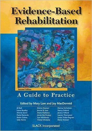 Evidence-Based Rehabilitation