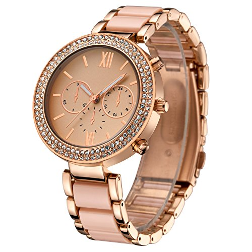 oumosi-womens-swarovski-crystal-accented-gold-tone-and-pink-ceramic-bracelet-wrist-watch