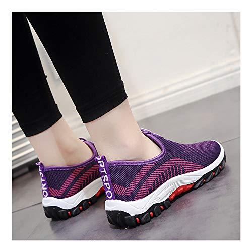 coloré Gris 39 EU Taille Chaussures ZHRUI Violet Z8q5wZ0