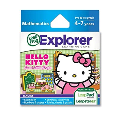 LeapFrog Explorer Sanrio Hello Kitty Sweet Little Shops Learning Game