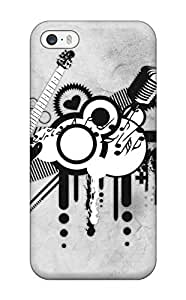 New Snap-on ZippyDoritEduard Skin Case Cover Compatible With Iphone 5/5s- Abstract