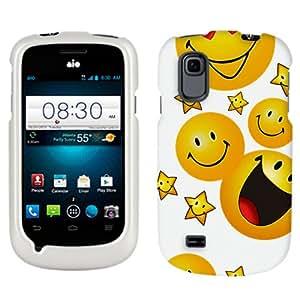 ZTE Prelude Yellow Smiley Face Design Phone Case Cover