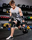 Knee Sleeves (1 Pair),7mm Compression Knee Braces for Heavy-Lifting,Squats,Gym and Other Sports