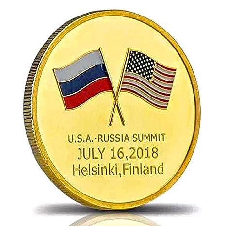 Image result for Coin Commemorating Trump-Putin Summit