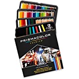 Prismacolor Premier Mixed Media Set, Colored Pencils-Art Stix-Pencil Sharpener, Assorted Colours, 79