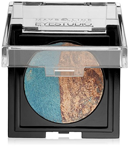 Maybelline New York Eye Studio Color Pearls Marbleized Eyeshadow, Duo Teal Takeover, 0.09 Ounce ()