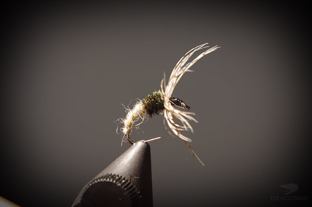 12 Hares Ear Kebari Flies - Tenkara Flies