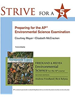 Amazon friedlandrelyea environmental science for ap strive for 5 preparing for the ap environmental science exam fandeluxe Gallery