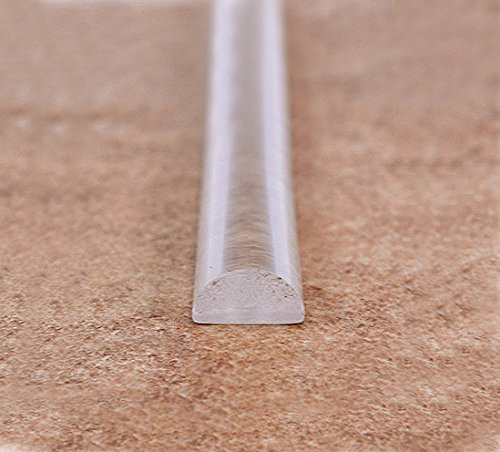 Charmant Transparent Plastic Shower Door Threshold.10 X 5mm. Length 1000mm (1 Meter)
