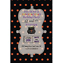 Customized - Halloween Invitations