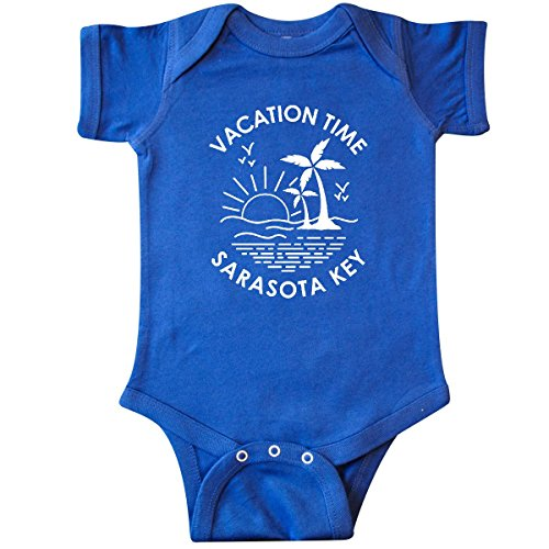 inktastic - Vacation Time in Sarasota Infant Creeper 18 Months Royal Blue 301ac