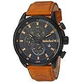 Timberland Men's TBL14816JLB02 HENNIKER II Analog Display Analog Quartz Brown Watch