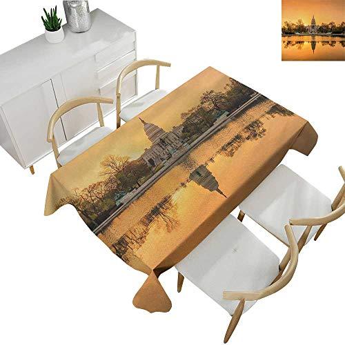 United States,Tablecloth Rectangular Washington DC American Capital City