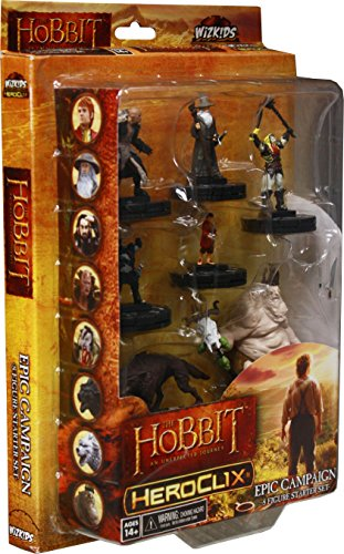 Miniature Heroclix (Neca Wizkids HeroClix - The Hobbit: UJ An Unexpected Journey - Epic Campaign Starter Set)