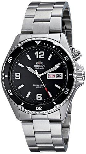 Orient Men's CEM65001B 'Silver Mako' Automatic Dive Watch