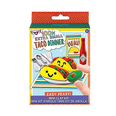 Fashion Angels Easy Peasy 'Mini Clay Kit' Taco Dinner: Toys & Games