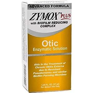 Zymox PLUS Solución enzimática ótico con Biofilm Complejo Reductor ...