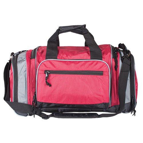 Covert-Carry Sport Duffel Bag, Burgundy/Grey ()