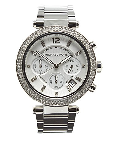 michael kors armbanduhr damen uhr mk5353 silber silver. Black Bedroom Furniture Sets. Home Design Ideas