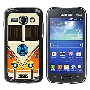Dragon Case - FOR Samsung Galaxy Ace 3 - You cannot appreciate happiness - Caja protectora de pl??stico duro de la cubierta Dise?¡Ào Slim Fit