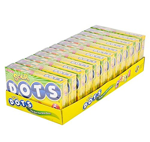 DOTS SOUR THEATER BOX CANDY 12PC/CASE, Case of 9 by DollarItemDirect (Image #2)