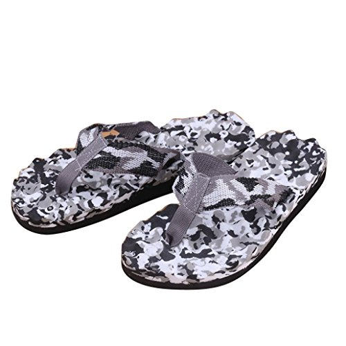 WuyiM Hot Sale! Sandals, Men Summer Camouflage Flip Flops Shoes Sandals Slipper indoor & outdoor Flip-flops – Sports Center Store