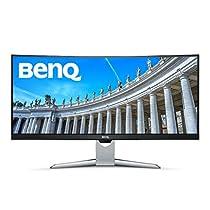 "BenQ EX3501R - Monitor curvo Ultra WQHD de 35"" (HDR, 21:9, 3440 x 1440, VA, FreeSync, 100 Hz, USB Type-C, 1800 R, biseles estrechos sin marco, tecnología Brightness Intelligence Plus, HDMI, DP)"