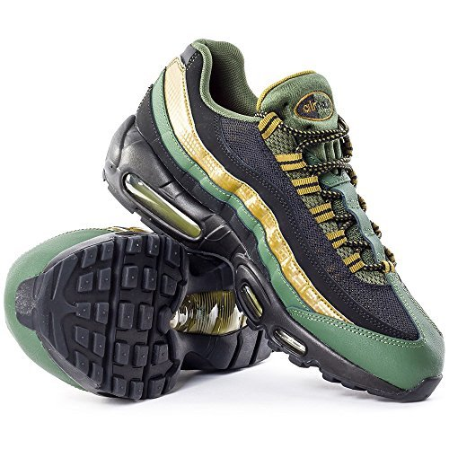 finest selection 371af ff532 Mens Nike Air Max 95 Essential Carbon Green Black Military Green 749766-300 US  8