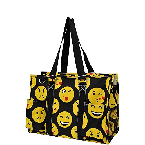 All Purpose Tote Bag 2 (Emoji Black)