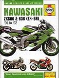 H3541 Haynes Kawasaki Ninja ZX-6R 1995-2002 Motorcycle Repair Manual