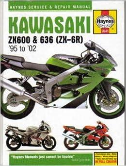 H3541 Haynes Kawasaki Ninja ZX-6R 1995-2002 Motorcycle ...