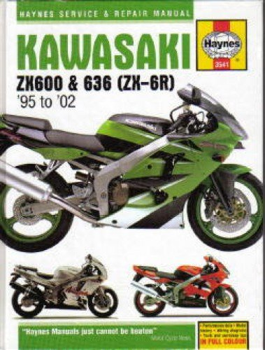 H3541 Haynes Kawasaki Ninja ZX-6R 1995-2002 Repair Manual