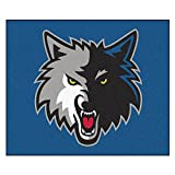 FANMATS 19456 NBA - Minnesota Timberwolves Tailgater Rug , Team Color, 59.5''x71''