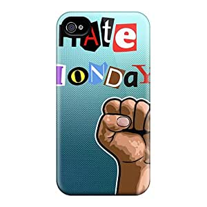 Series Skin Case Cover For Iphone 4/4s(i Hate Mondays)