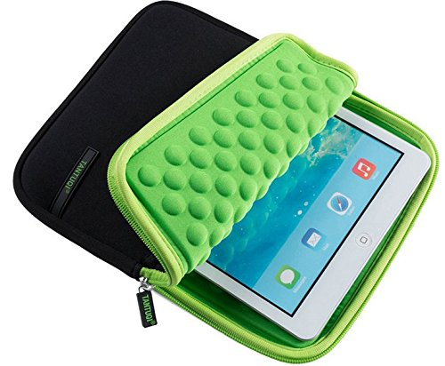 Funda de Neopreno a Prueba de Golpes para iPad 9.7 Samsung Galaxy Tab A 10.5 // Acer Iconia One 10 2018 Tab S4 10.5 Microsoft Surface Go//Teclast T20 M20 Negro Negro