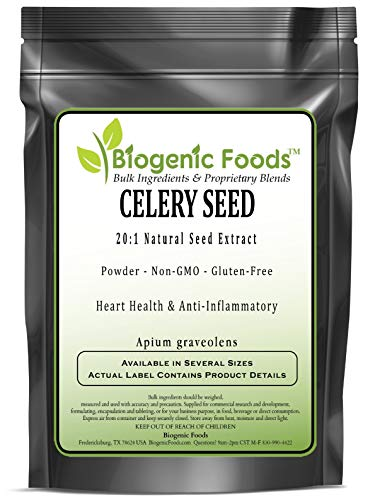 Celery Seed - 20:1 Natural Seed Powder Extract (Apium graveolens), 2 kg by Biogenic Foods (Image #2)