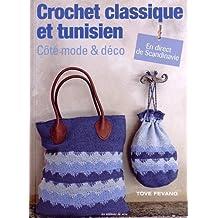 Crochet classique et tunisien côté mode et déco