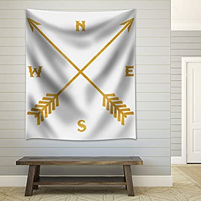 Grand Style, Golden Compass on a Pure White Background, Created By a Professional Artist