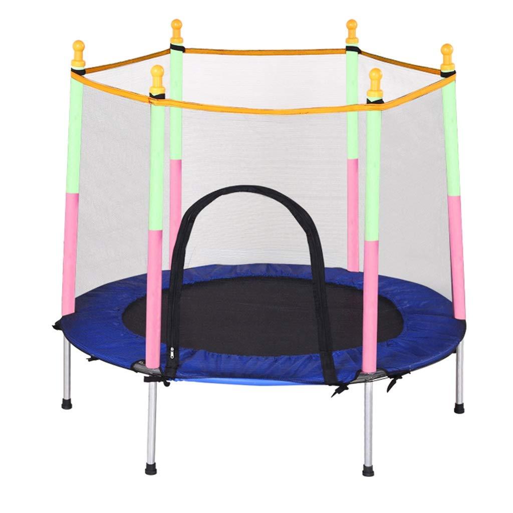 Gartentrampoline Mini-Trampolin Kindertrampolin mit Netzschutz Trampolin für Heimgymnastik Indoor-Sprungbett Bungee-Sprungbett für Erwachsene, Tragfähigkeit von ca. 120kg Trampoline