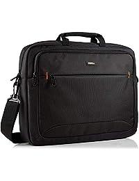 """AmazonBasics NC1406118R1 Funda tipo maletín para portátil de 17.3"""" (color negro, resistente al polvo, rayones y salpicaduras)"""