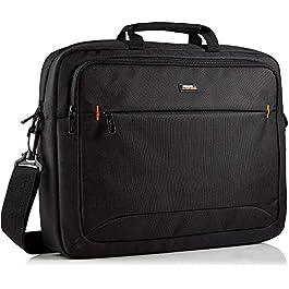 Amazon Basics 17.3-Inch HP Laptop Case Bag, Black, 1-Pack