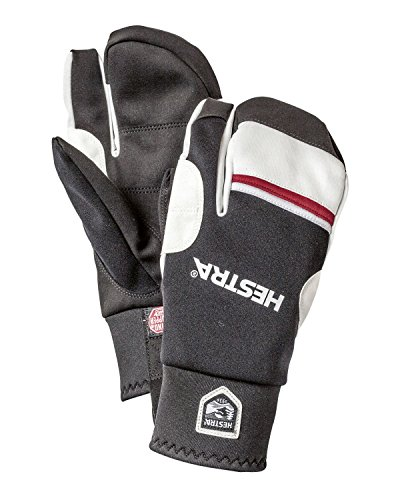 Hestra Gloves 37092 Windstopper Race Tracker 3-Finger