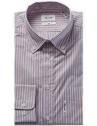 Mens Club Fit Dress Shirt, 46, Pink