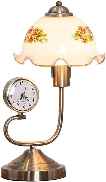 Lámpara de mesa de noche romántica con lámpara de escritorio ...