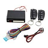 uxcell 12V Car Auto Remote Central Kit Door Lock Vehicle Keyless Entry System