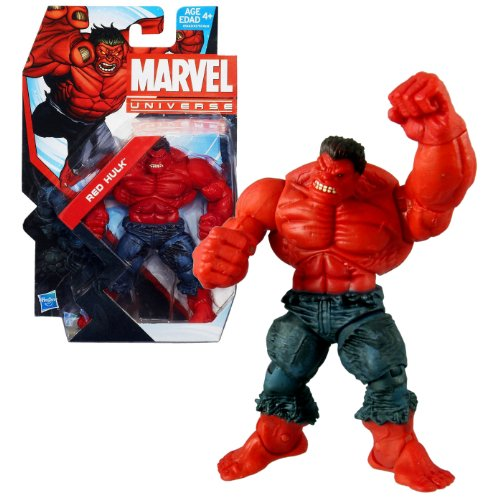 Hasbro Year 2013 Marvel Universe Series 5 Single Pack 5 Inch Tall Action Figure #13 - RED HULK