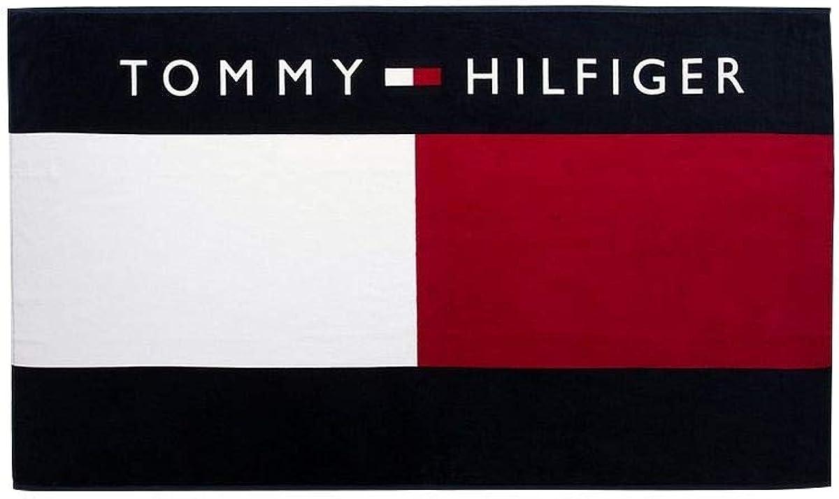 Tommy Hilfiger Unisex Toalla de Playa Piscina UU0UU00018 416