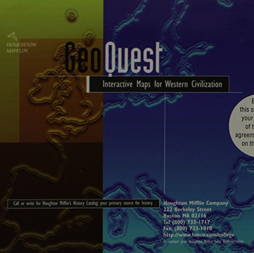 GeoQuest Map CD-ROM for Noble/Strauss/Osheim/Neuschel/Cohen/Roberts' Western Civilization: The Continuing Experiment, 2n